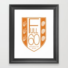 Fall 2016 Crest full page Framed Art Print