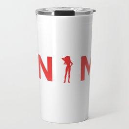Anime Inspired Shirt Travel Mug