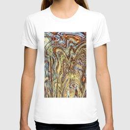 Scramble - Digital Abstract Expressionism T-shirt