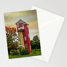 Autumn Water Tower Stationery Cards
