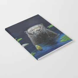 The River Otter by Teresa Thompson Notebook