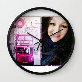 Routemaster Girl Wall Clock