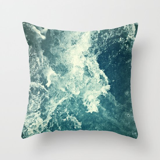 Water III Throw Pillow