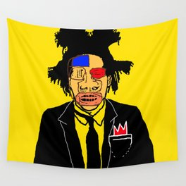 Jean Michelle Basquiat Wall Tapestry