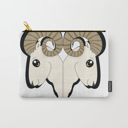 Ram Heads Carry-All Pouch