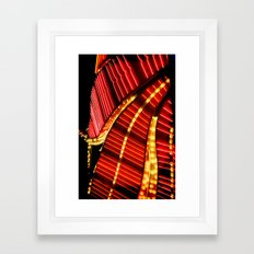 Flamingo Two Framed Art Print