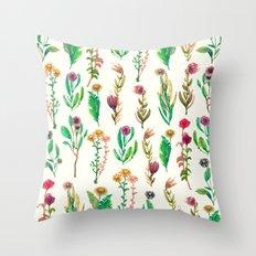 cute flowers Throw Pillow