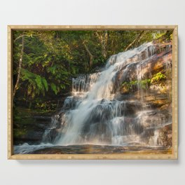 Somersby Falls, Central Coast, NSW, Australia Serving Tray