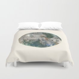 to the moon and back Duvet Cover