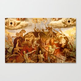Brunelleschi Cupola in Florence Canvas Print