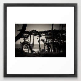 Lands End. Framed Art Print