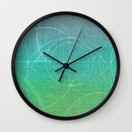 Aurea (Green Version) Wall Clock