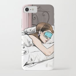 Holly Golightly the cat with no name - Audrey Hepburn in Breakfast at Tiffany's iPhone Case