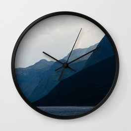 Gradients Wall Clock