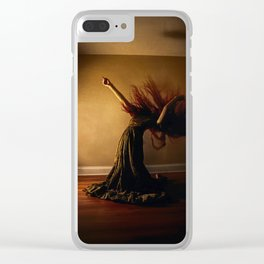 The Agony Room Clear iPhone Case