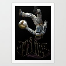 Justice-Planisphere Art Print