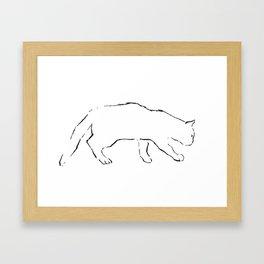 Cat 12 Framed Art Print
