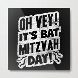 Jewish Bat Mitzvah Jew Metal Print