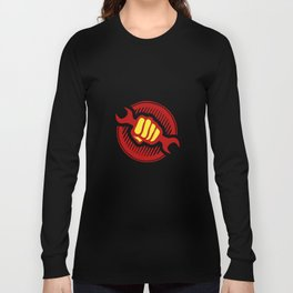 Communist propaganda  -  power to the workers  Long Sleeve T-shirt