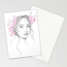 Japanese Cherry Blossom Stationery Cards