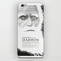 darwin iPhone & iPod Skins featuring Darwin by James Northcote
