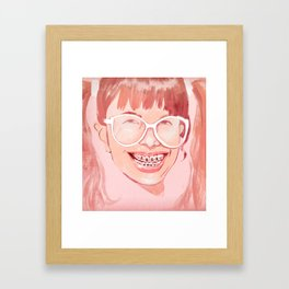 Smile! Framed Art Print