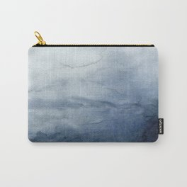 Abstract Indigo No. 2 Carry-All Pouch