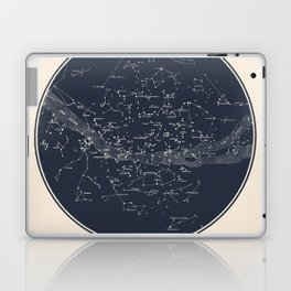 Carte Celeste Laptop & iPad Skin