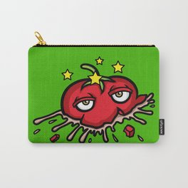 Smashed Tomato Carry-All Pouch