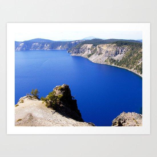 Crater Lake Art Print