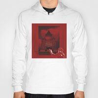 moscow Hoodies featuring Moscow by Nerve