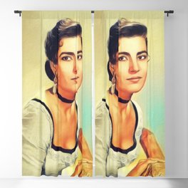 Irene Papas, Vintage Actress Blackout Curtain