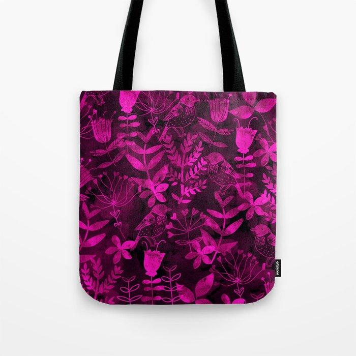 Abstract Botanical Garden III Tote Bag