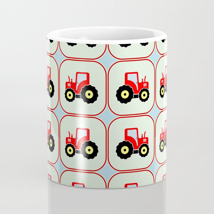 Toy tractor pattern Coffee Mug