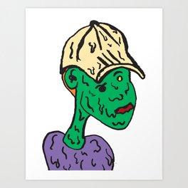 Estate Boy Art Print