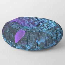Spherical Abstract Floor Pillow