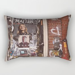 East Village Door Rectangular Pillow