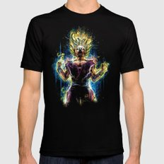 Emotional Fighter Level 2 MEDIUM Mens Fitted Tee Black