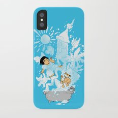 The Bubbly Imagination iPhone X Slim Case