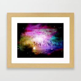 Migrating Framed Art Print