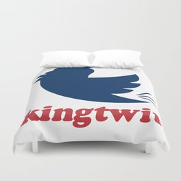 kingtwit. trump 2016 Duvet Cover