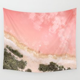iOS 11 Rose Gold iPad background Wall Tapestry
