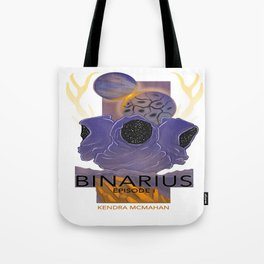 BINARIUS EPISODE I -- COVER (WHITE) Tote Bag