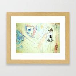 Piano Head Framed Art Print
