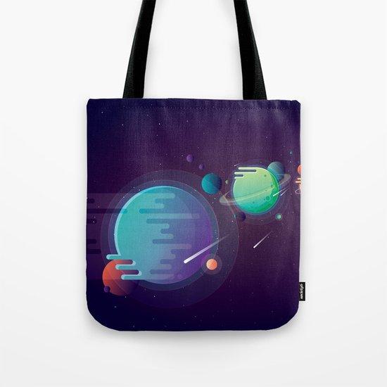 Alien Planets Tote Bag