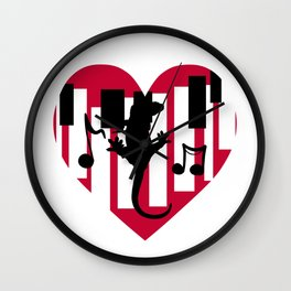 Music of the Heart Wall Clock