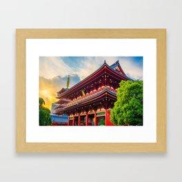 Colors in Tokyo Framed Art Print