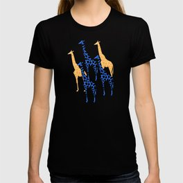 Giraffes march T-shirt