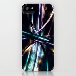 Highway interchange iPhone Case