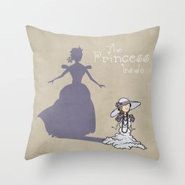 The Princess Inside Throw Pillow